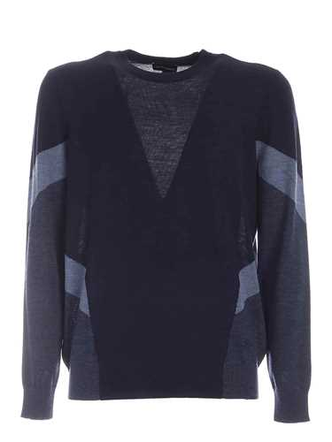 Picture of EMPORIO ARMANI | Men's Virgin Wool Pullover