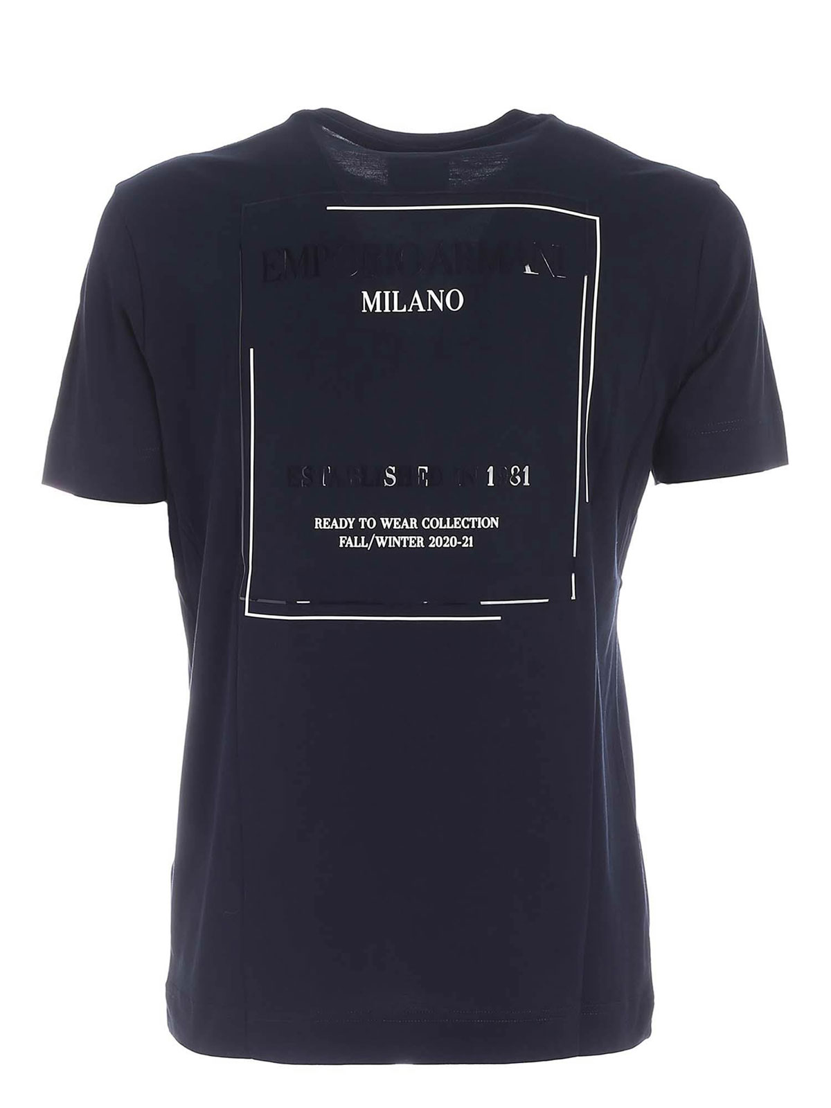 Picture of EMPORIO ARMANI | Men's 2021 New Collection T-Shirt