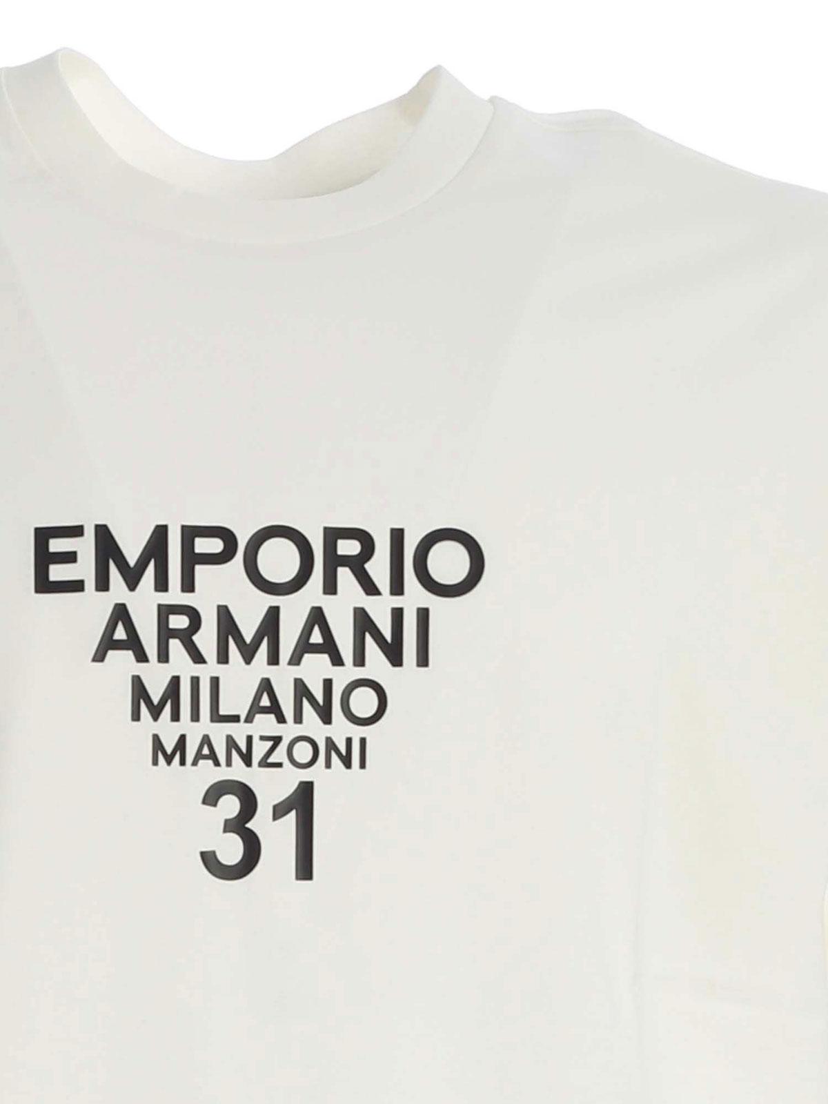 Picture of EMPORIO ARMANI | Men's Milano Manzoni 31 T-Shirt