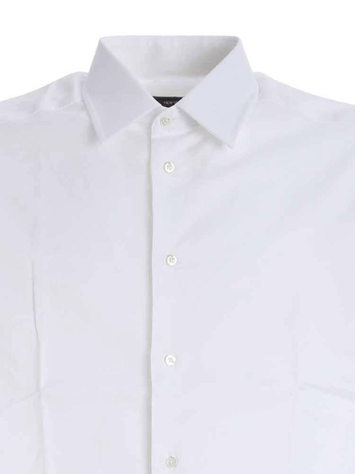 Picture of EMPORIO ARMANI | Men's New York Stretch Shirt