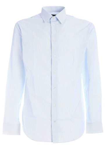 Picture of EMPORIO ARMANI | Men's Micro Stripes Shirt