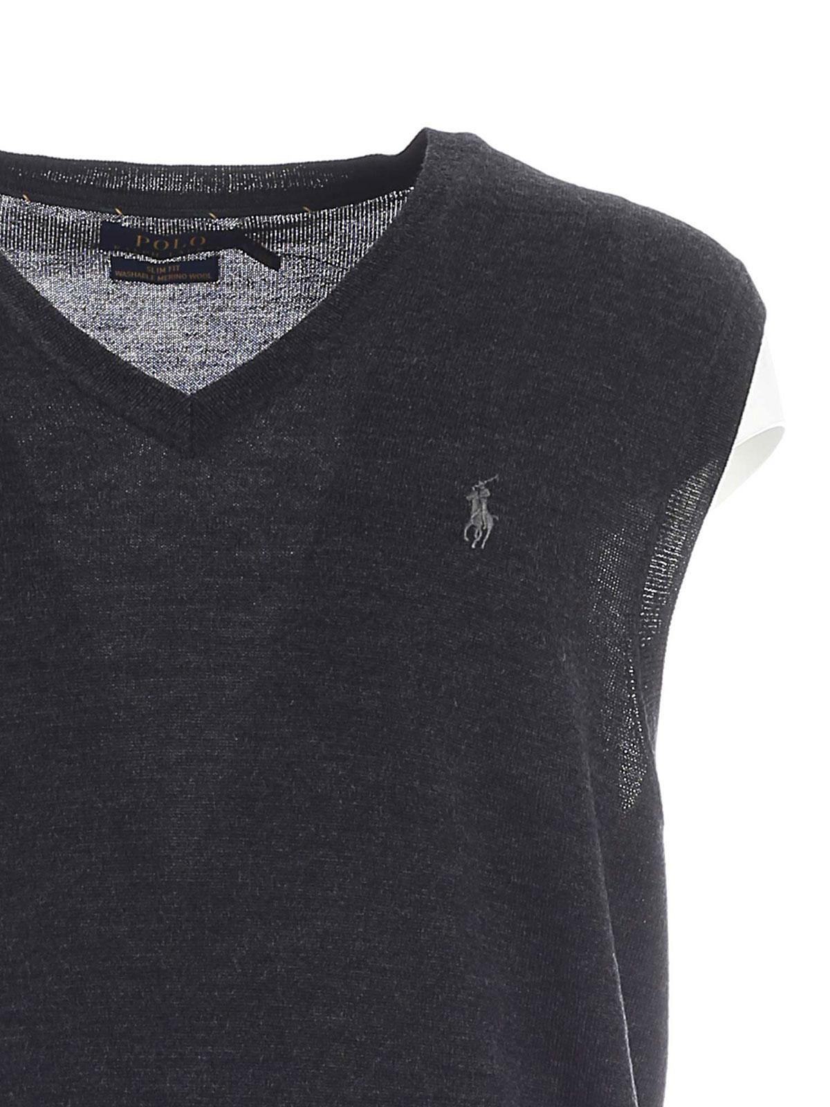 Picture of POLO RALPH LAUREN | Men's Knitted V-Neck Vest
