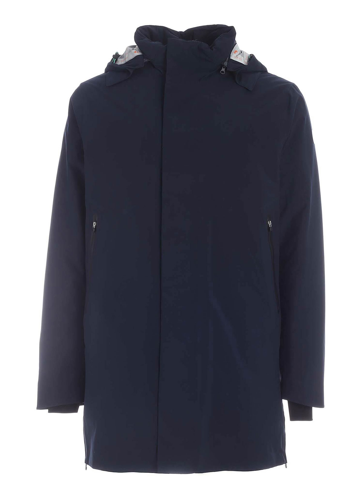 Picture of SAVE THE DUCK | Men's Recycled Hooded Coat D4695M