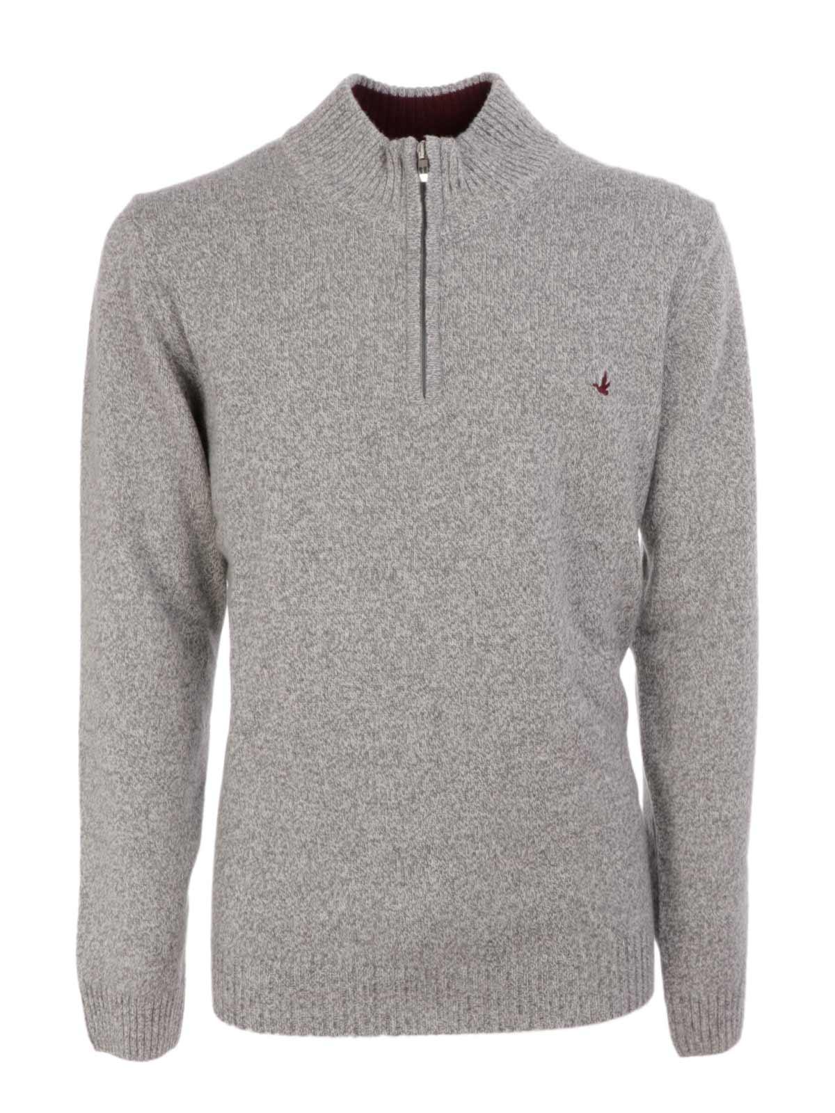Picture of BROOKSFIELD | Men's Half Zip Sweater