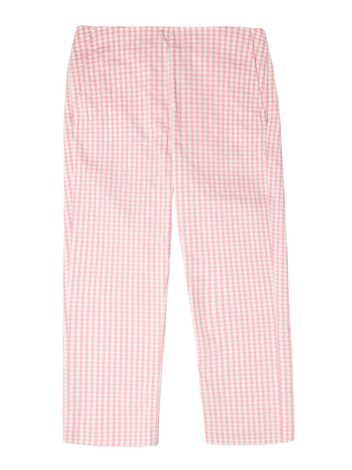 Picture of GANT | TROUSERS O2. GINGHAM CAPRI PANT