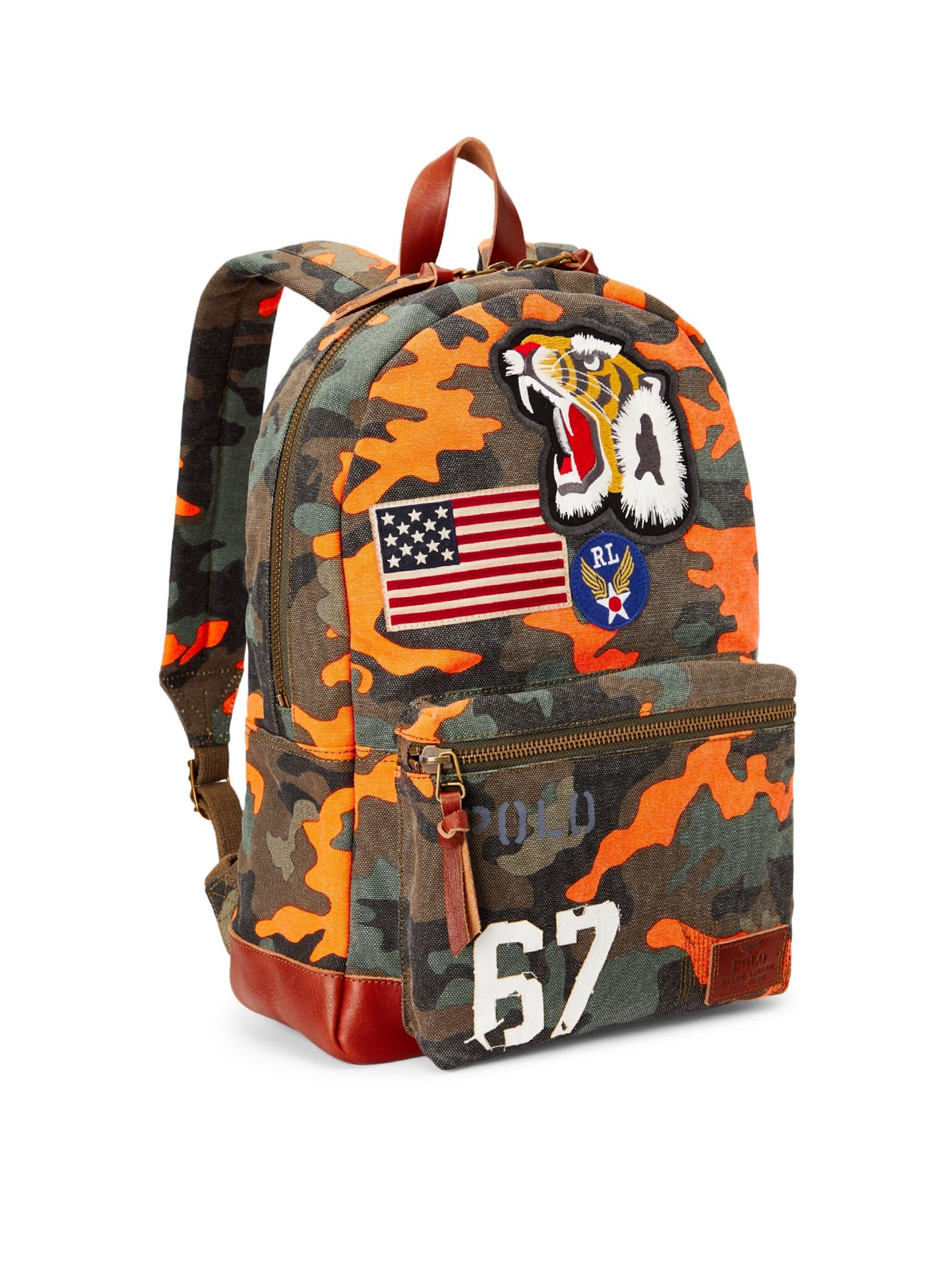 Picture of Polo Ralph Lauren | Bag Backpack Camo Tgr