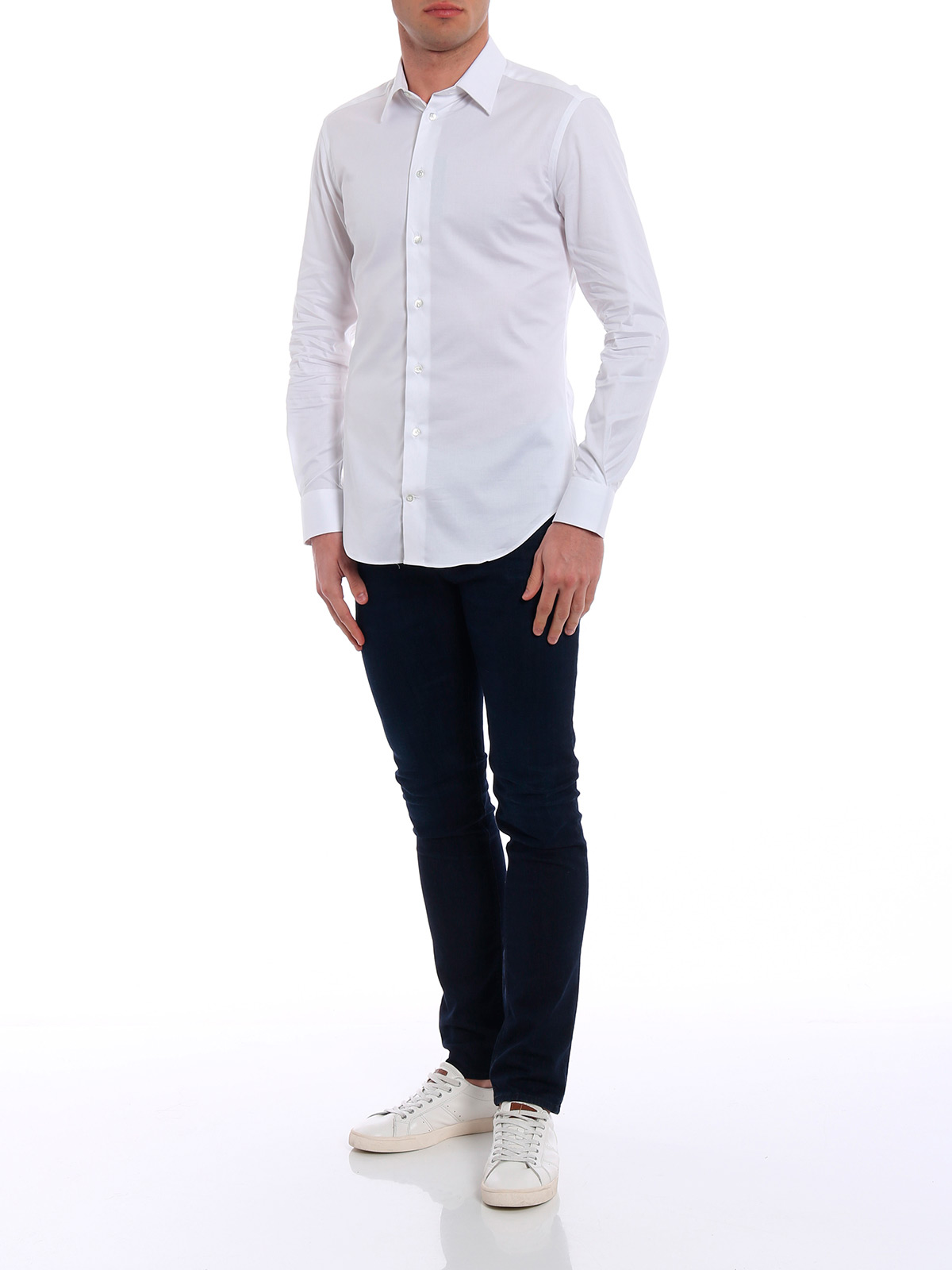 Picture of EMPORIO ARMANI | Men's Slim Fit Shirt