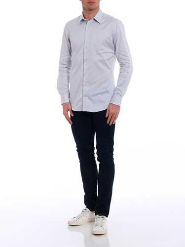 Picture of EMPORIO ARMANI | Men's Slim Fit Shirt