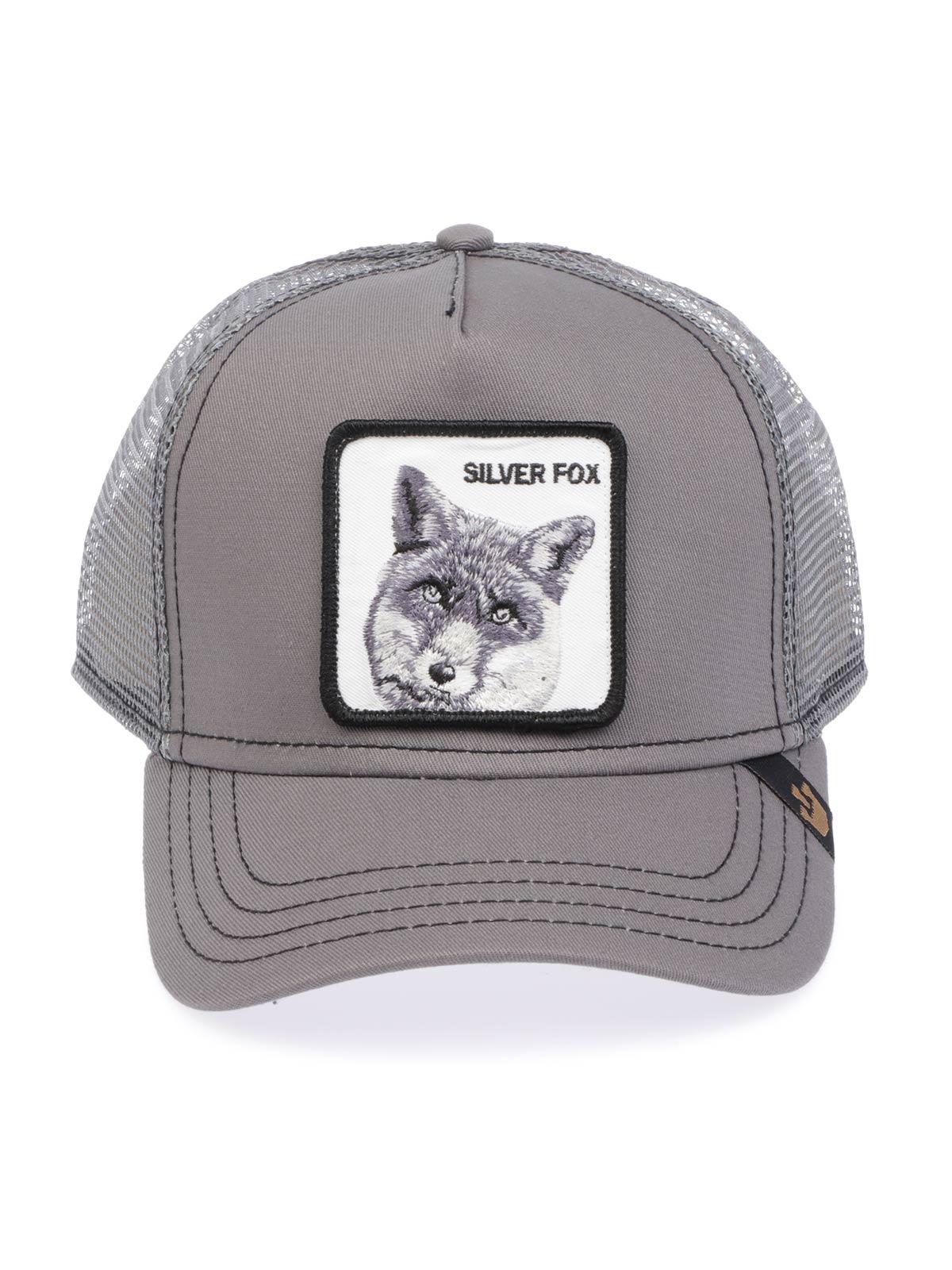 f584bd55 GOORIN BROS Men's Silver Fox Trucker Cap Grey | ANIMAL FARM | Botta ...