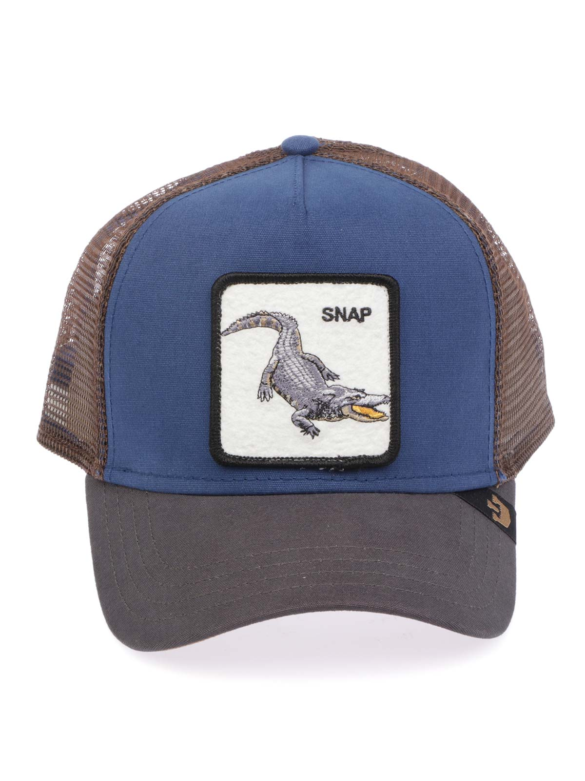 3ad5d14a6505e7 GOORIN BROS Men's Snap Trucker Cap Blue | ANIMAL FARM | Botta & B ...