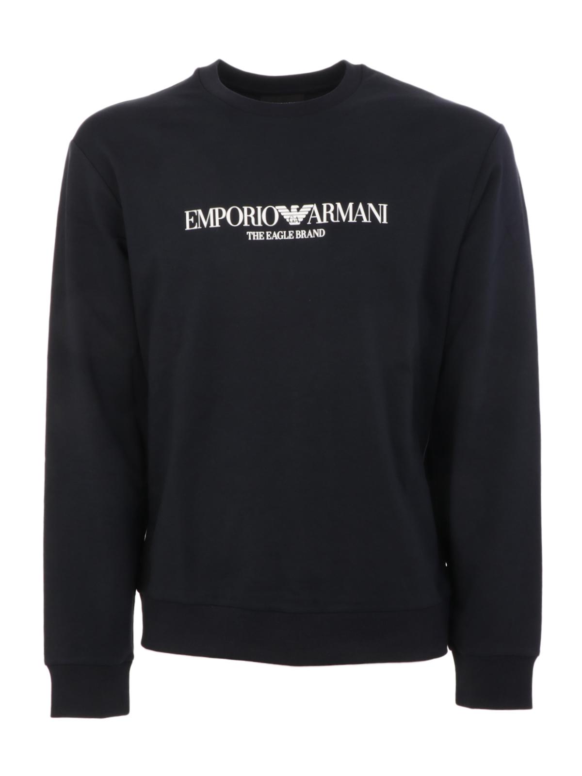 Picture of EMPORIO ARMANI | Men's Printed Sweatshirt