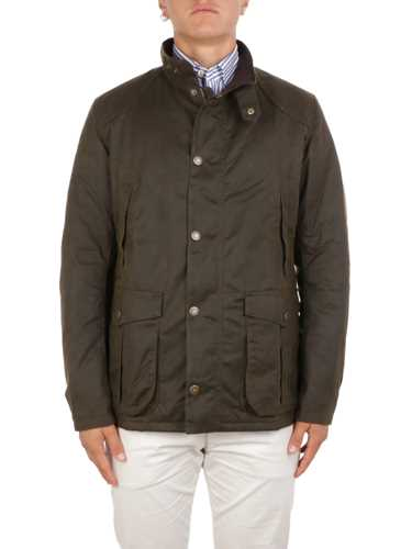 Picture of BARBOUR | Men's Leaaward Wax Jacket