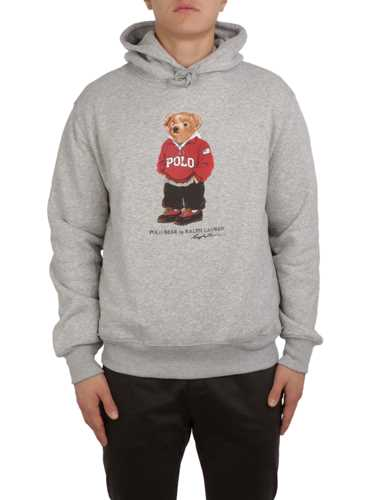 Picture of POLO RALPH LAUREN | Men's Polo Bear Hooded Sweatshirt