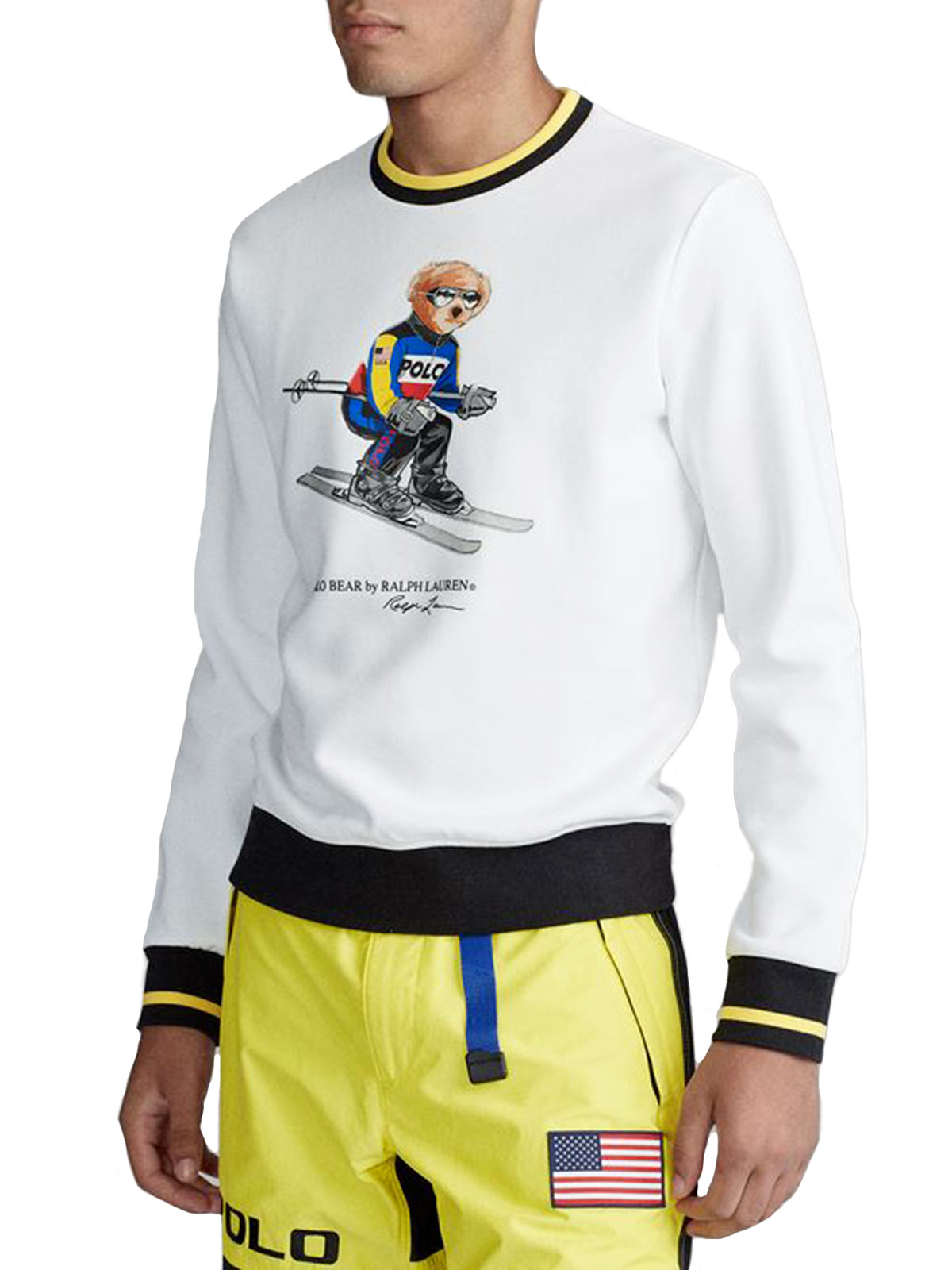 Picture of POLO RALPH LAUREN | Men's Ski Polo Bear Sweatshirt