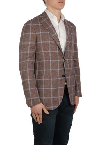 Picture of BARBA | Men's Jimmy Checked Blazer