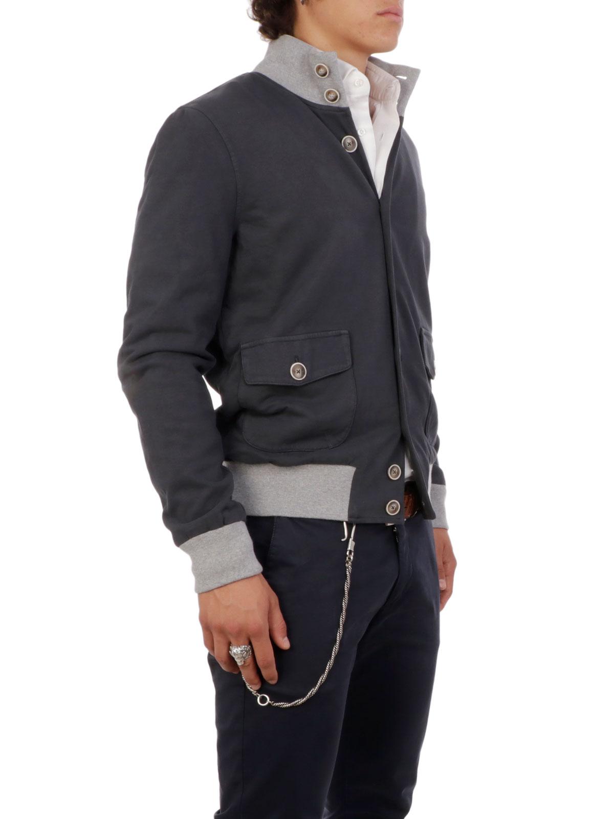 Eleganza Citare uccello  CAPOBIANCO Giubbino Uomo Cotone Ferro | E151050C | Botta & B Abbigliamento