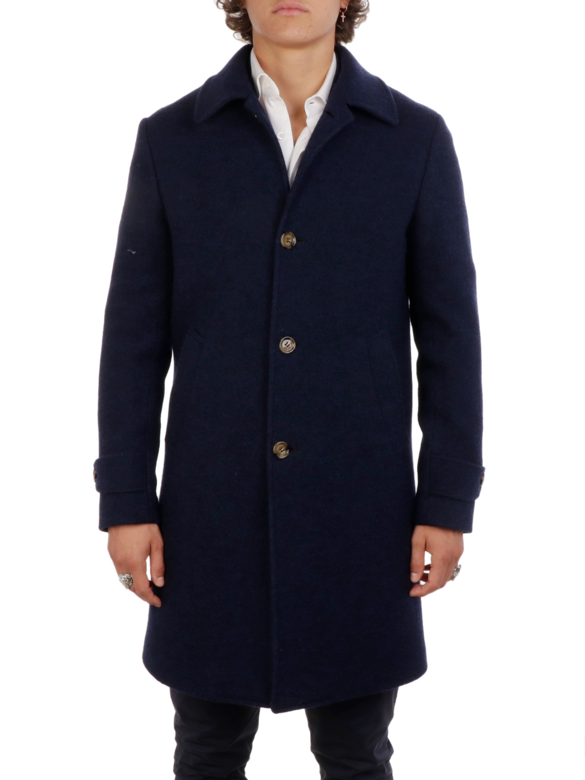 Picture of ELEVENTY | Wool Single Breasted Coat