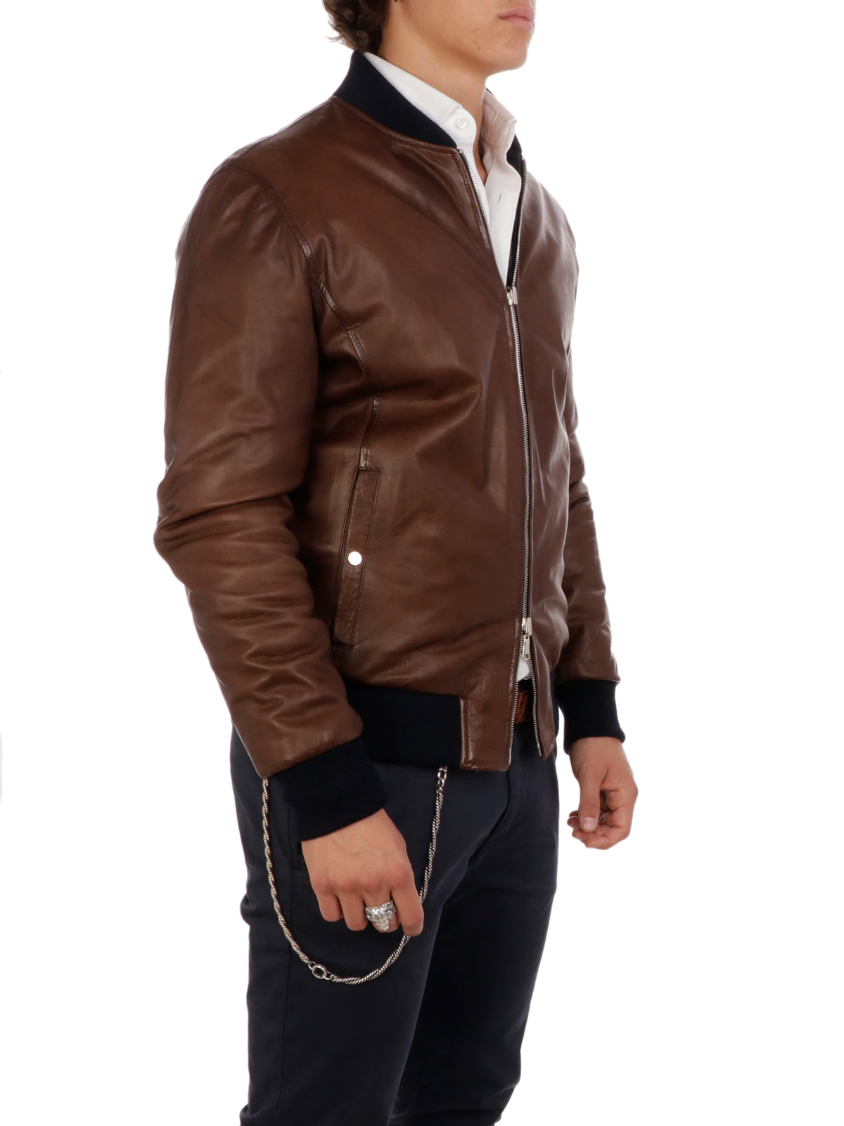 Picture of BARBA | Men's Double Face Jacket