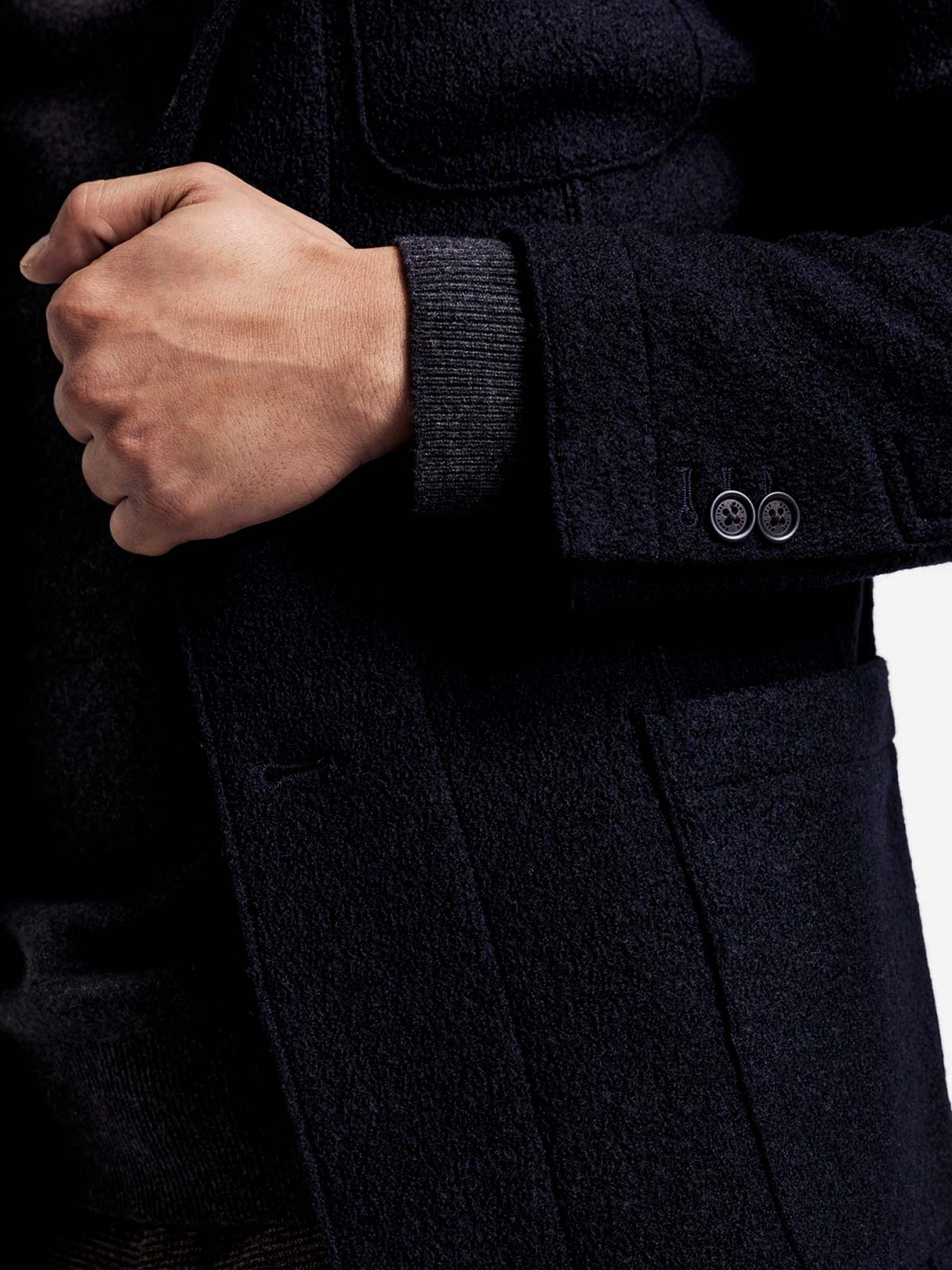 Picture of GANT | Giacche D2. BOILED WOOL BLAZER