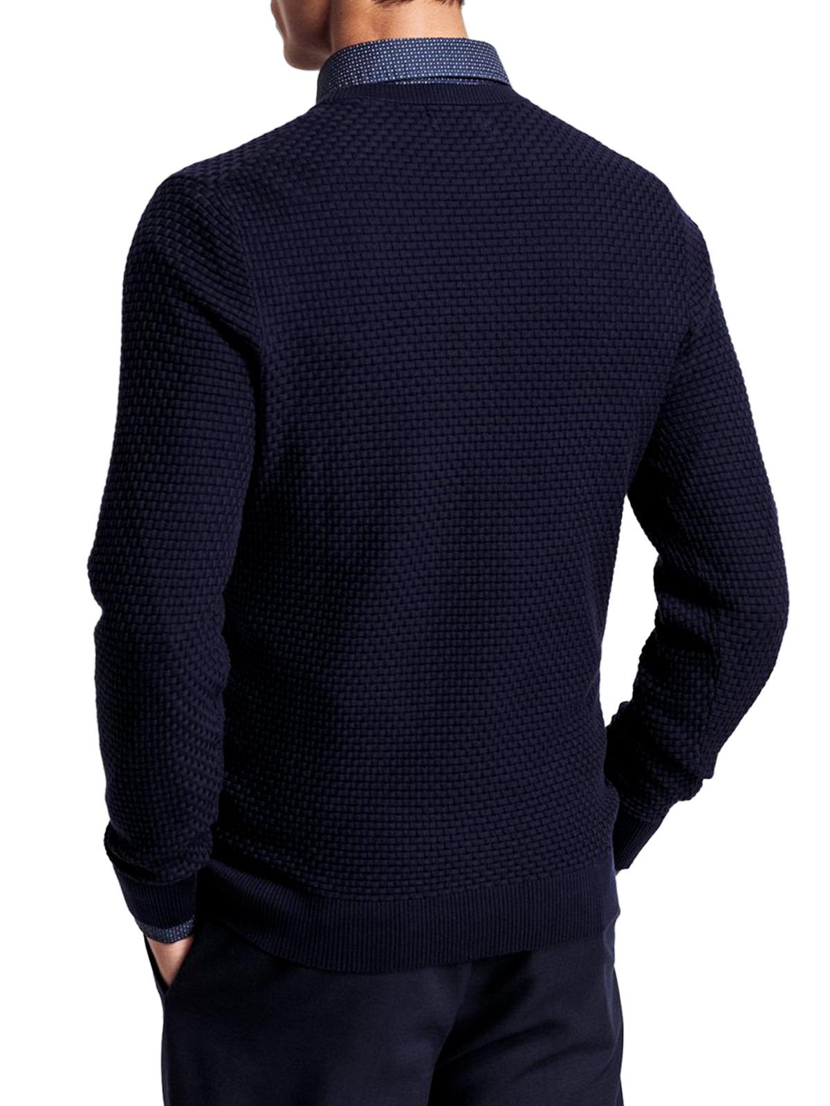 Picture of GANT   Men's Signature Weave Sweater