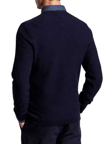 Picture of GANT | Men's Signature Weave Sweater