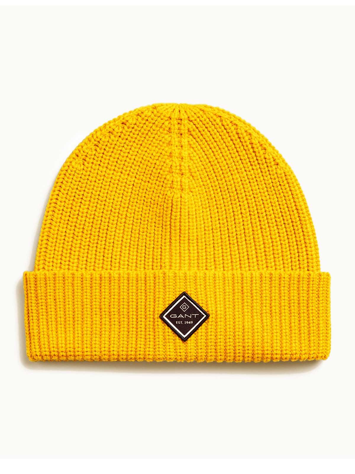 Picture of GANT | Men's Cotton Rib Knit Hat