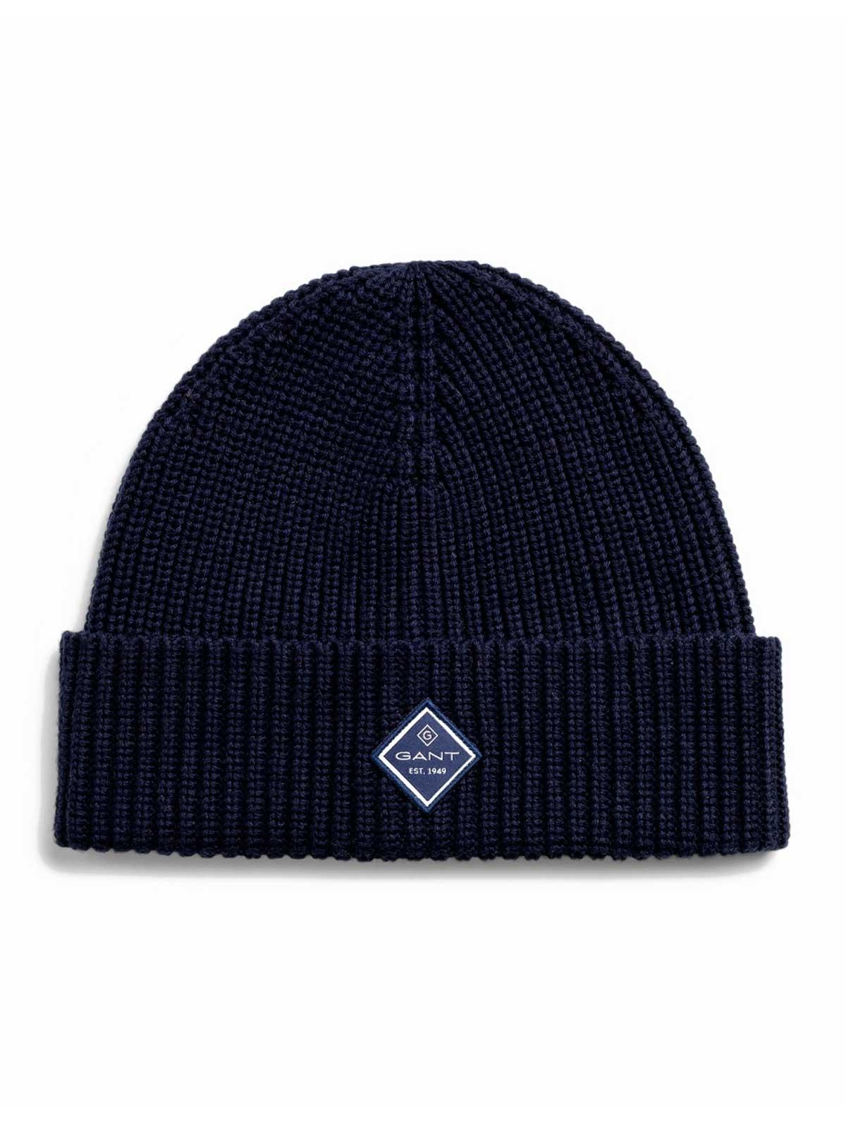 Picture of GANT   Men's Cotton Rib Knit Hat