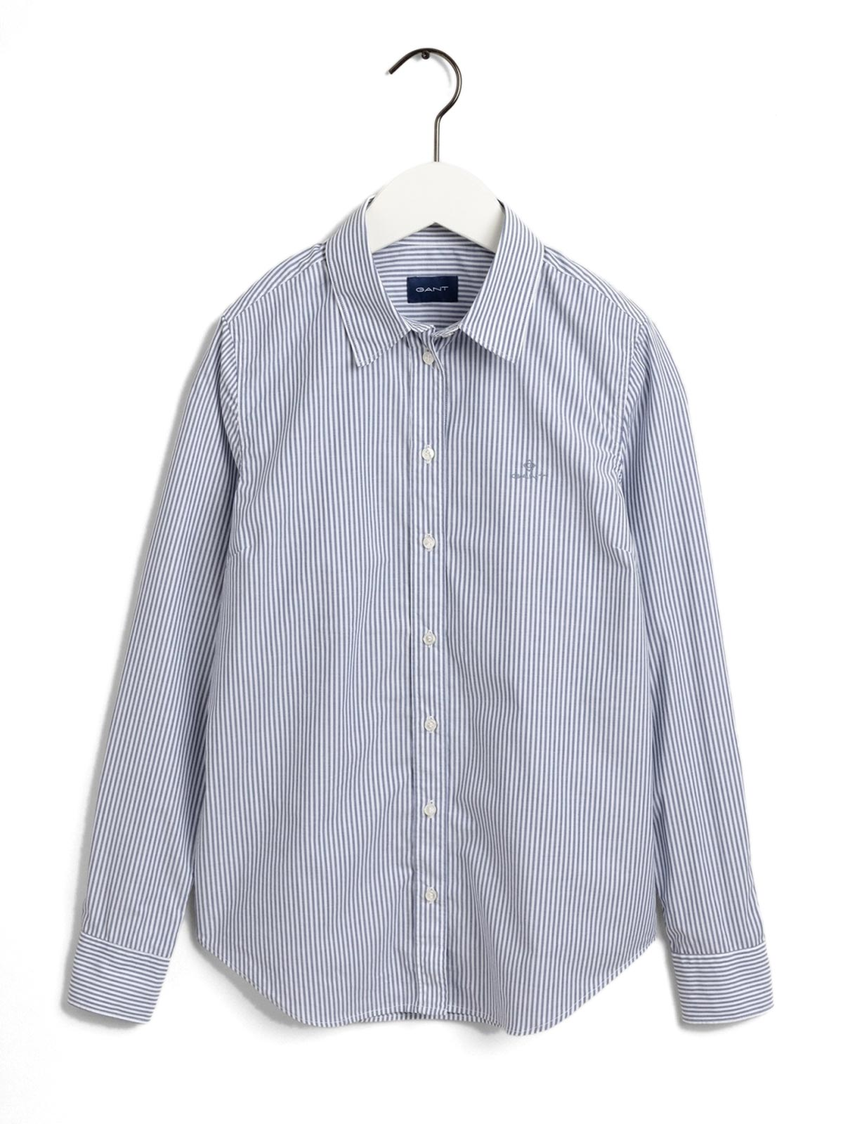 Picture of Gant   Shirts Banker Stripe Stretch Broadcloth
