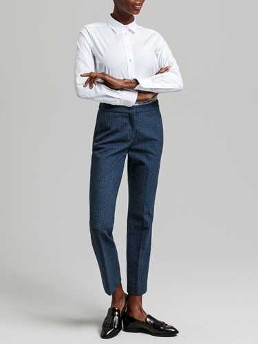 Picture of Gant | Shirts Solid Stretch Broadcloth Shirt