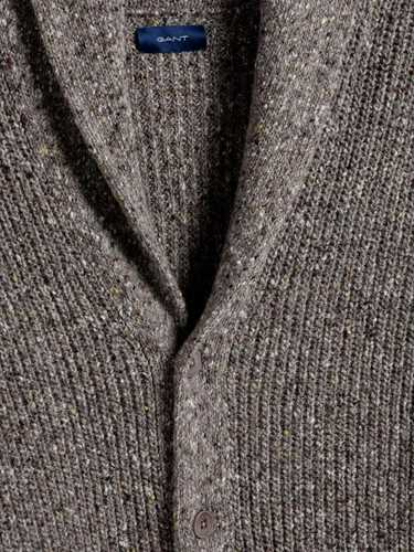 Picture of GANT | JERSEY D2. NEPS SHAWL CARDIGAN