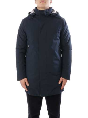Picture of SAVE THE DUCK   Men's Recycled Hooded Coat D4695M