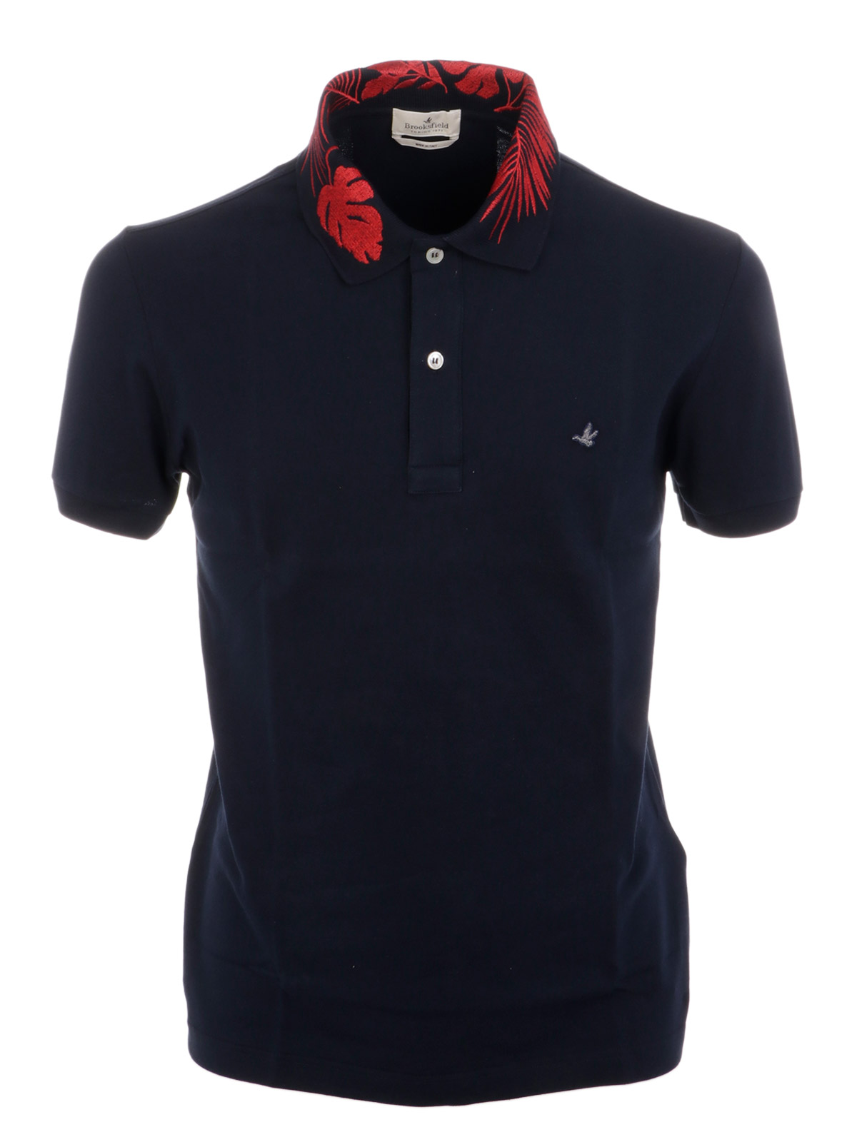 Picture of BROOKSFIELD | Men's Embroidered Collar Polo Shirt