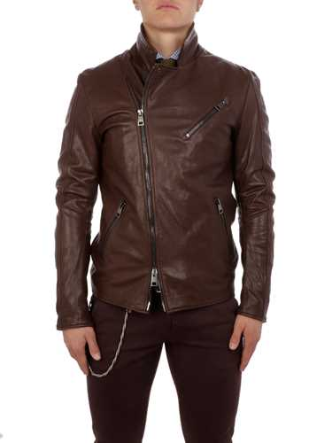 Picture of PERPHECTO | Men's Trevor Leather Jacket