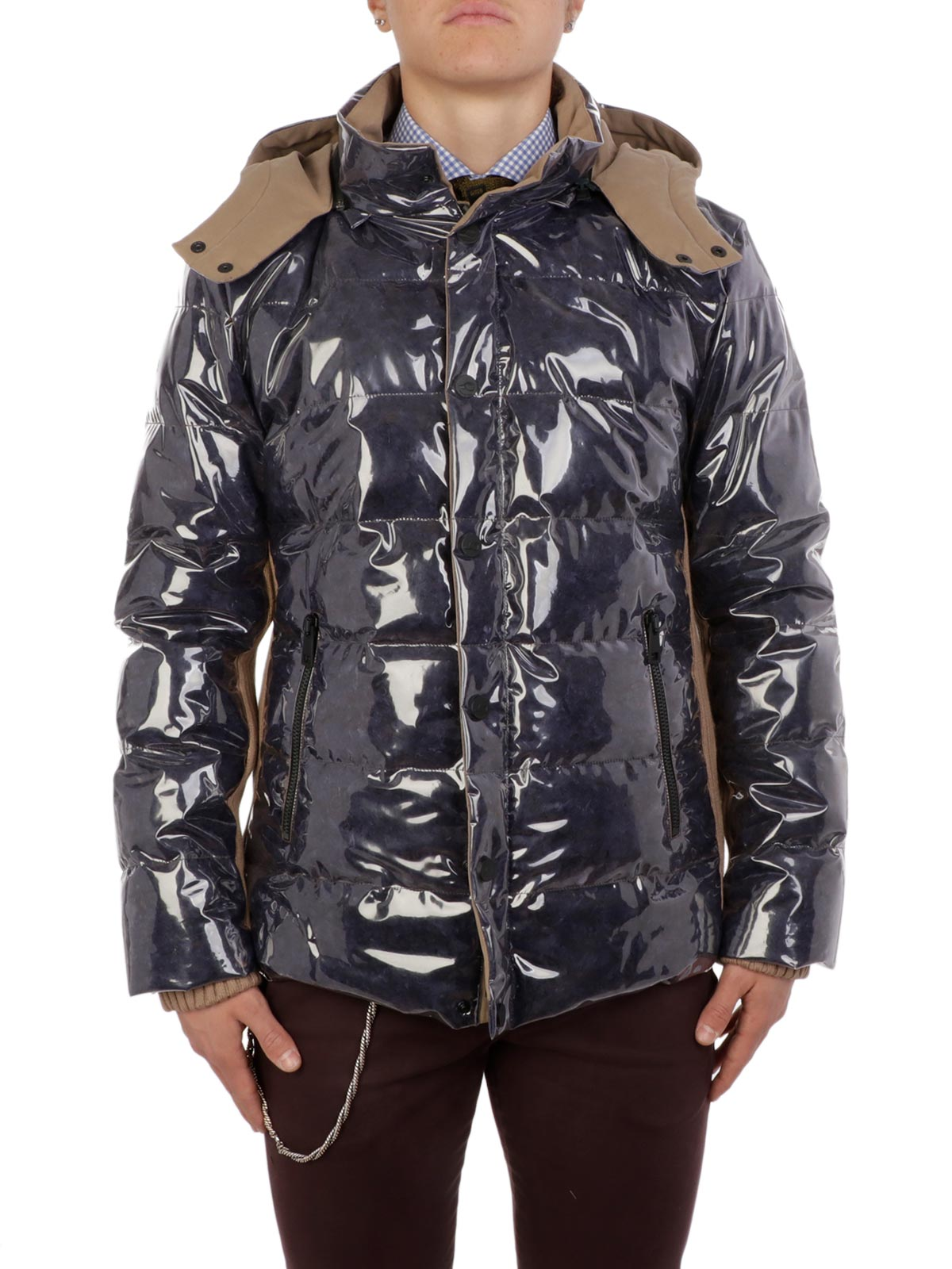 Picture of GOOSE TECH | Men's Transparent Padded Jacket