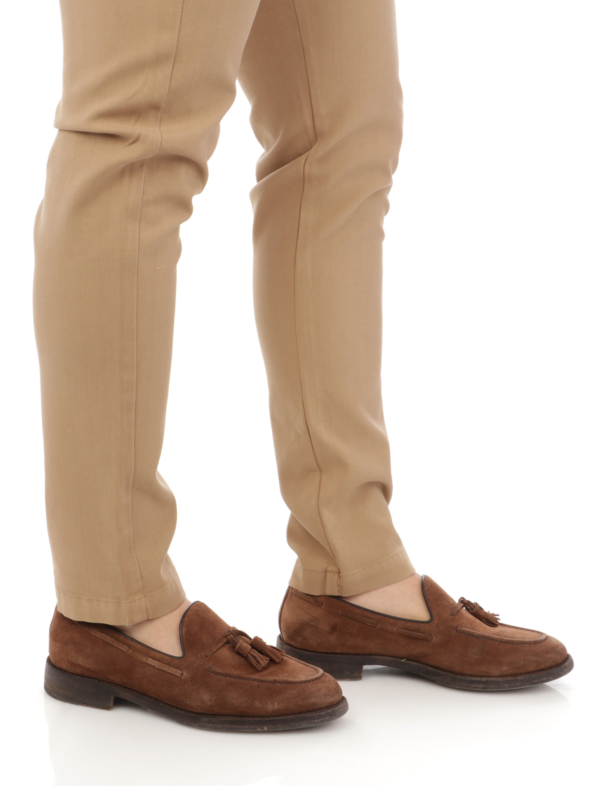 Picture of ELEVENTY   Men's Drawstring Cotton Pants