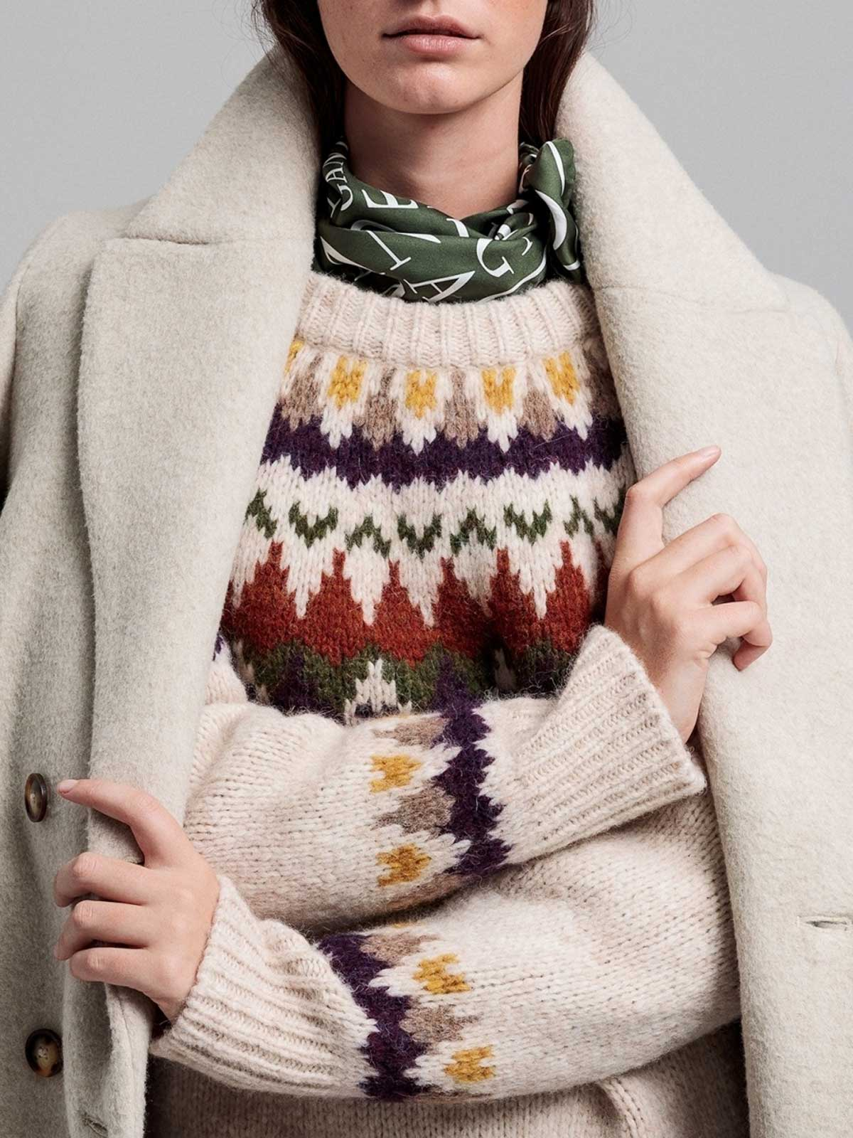 Immagine di Gant | Jersey D2. Winter Fairisle Crew