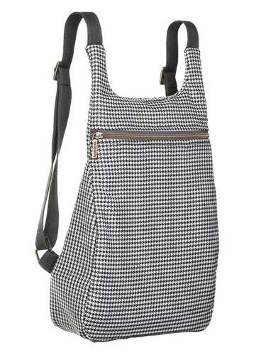 Picture of MANTICO | Backpack Classy Zayno Pied de Poule