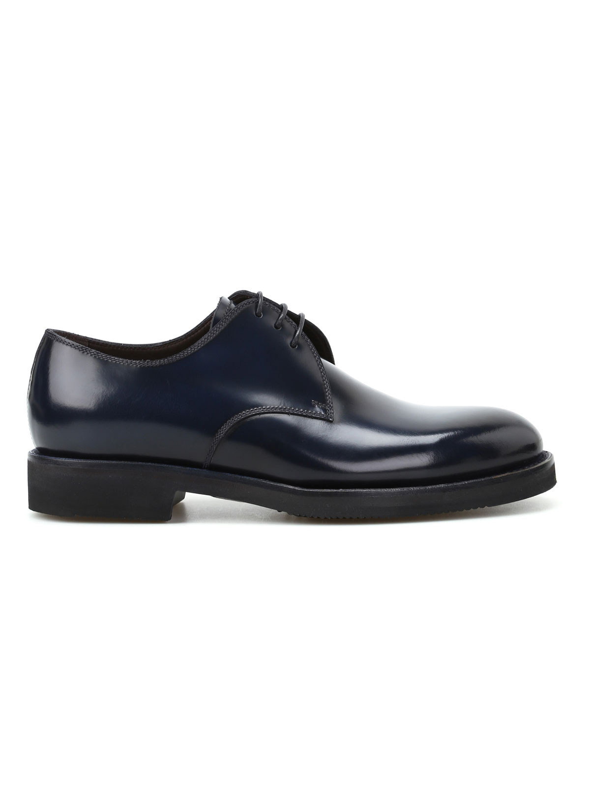 Picture of BARRETT | FOOTWEAR Derby in pelle spazzolata blu