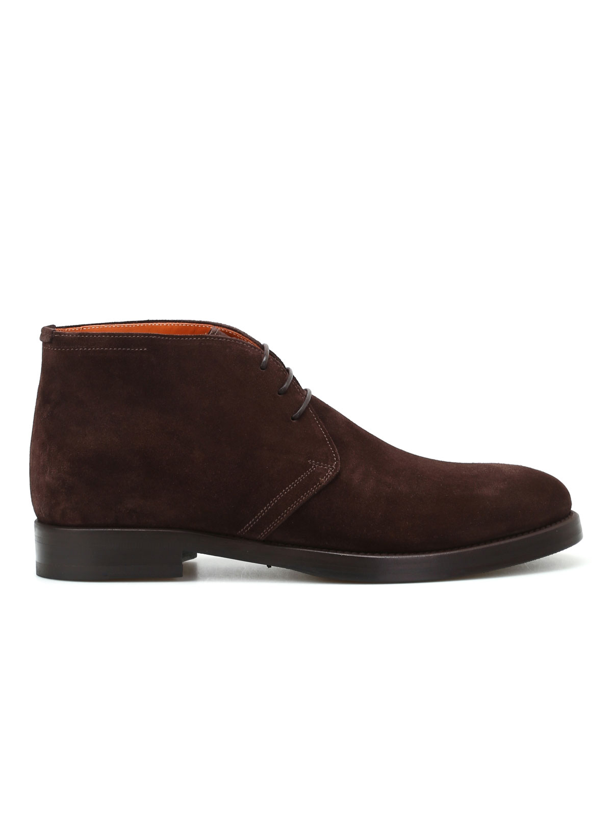 Immagine di BARRETT | FOOTWEAR Polacchini Colin marroni in suede
