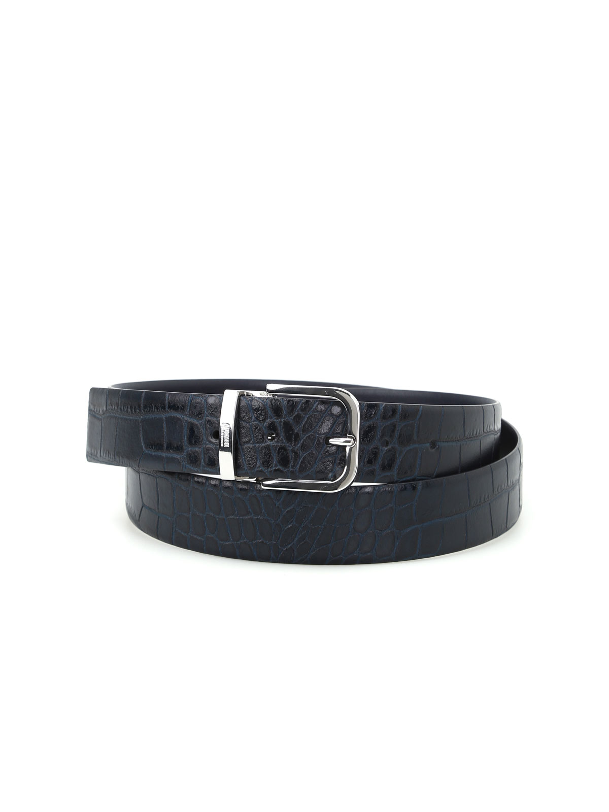 Picture of ARMANI | BELT Cintura reversibile stampa cocco
