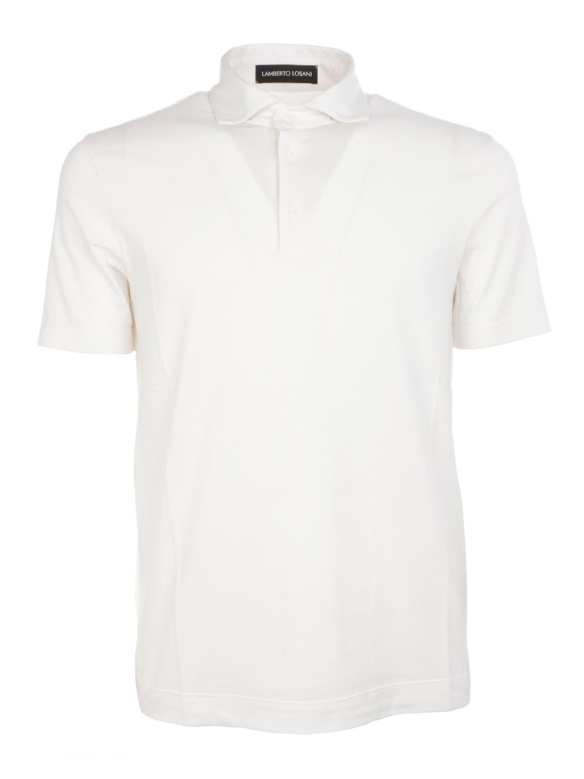 Picture of LAMBERTO LOSANI | Men's Stretch Polo Shirt