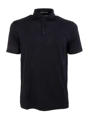 Picture of LAMBERTO LOSANI | Men's Stretch Polo Shirt