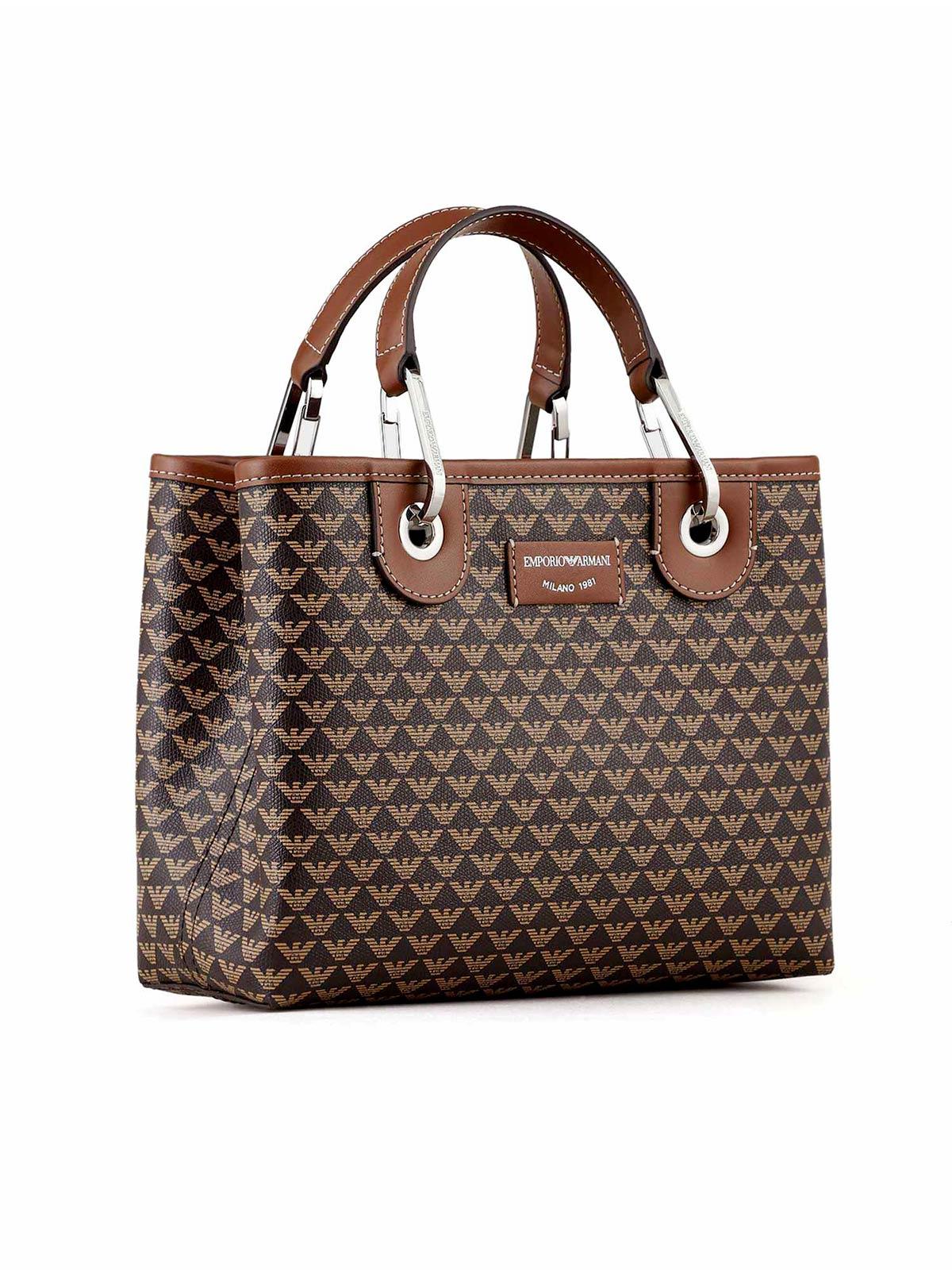 Picture of EMPORIO ARMANI | Women's Small Shopper Bag with Logo