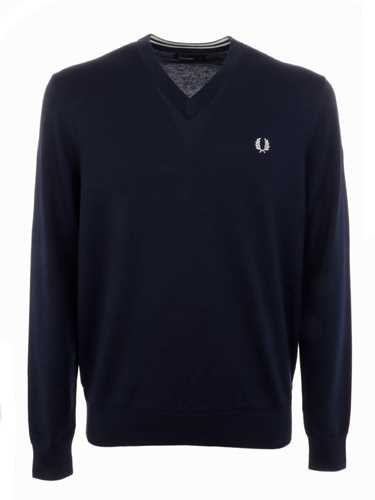 Picture of FRED PERRY | Men's V-Neck Jumper