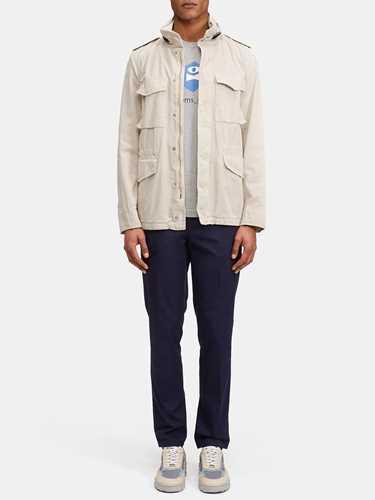 Picture of ASPESI   Men's Minifield Cot Coat