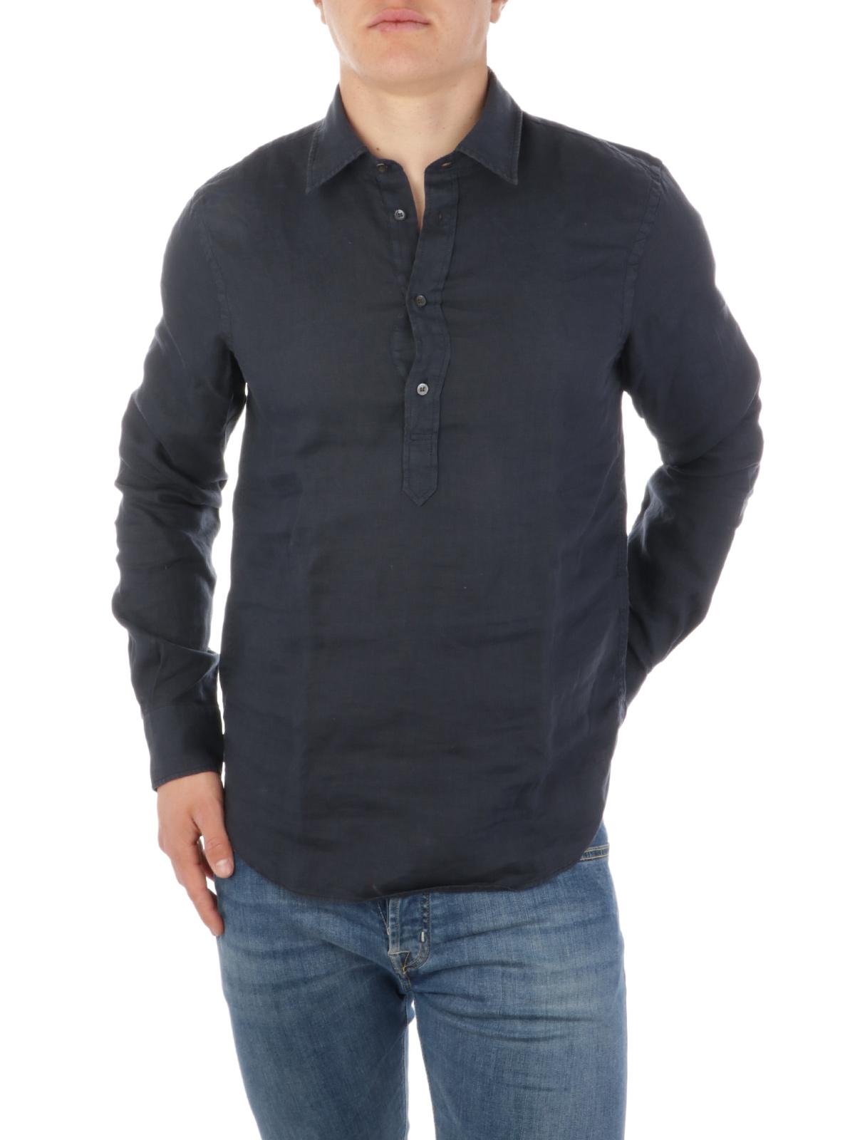 Picture of ASPESI | Men's 3-Button Linen Shirt