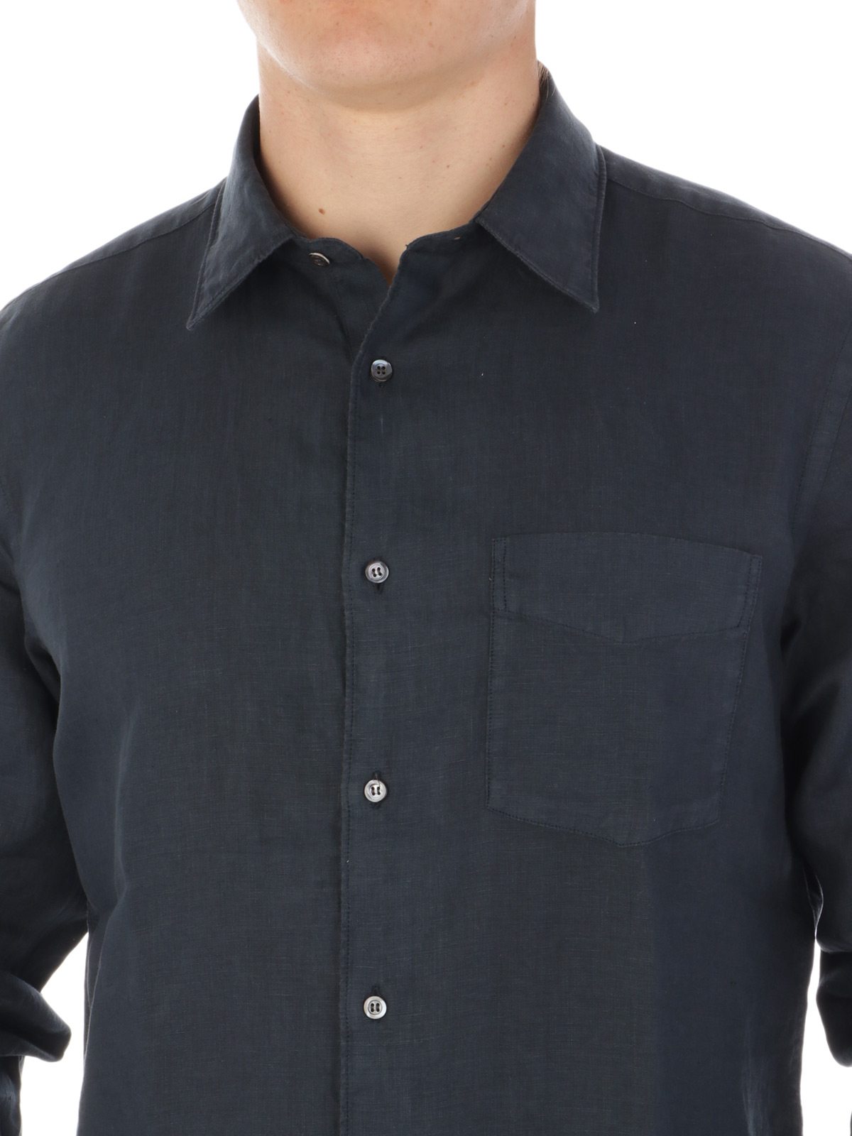 Picture of ASPESI | Men's Mod. Sedici Linen Shirt