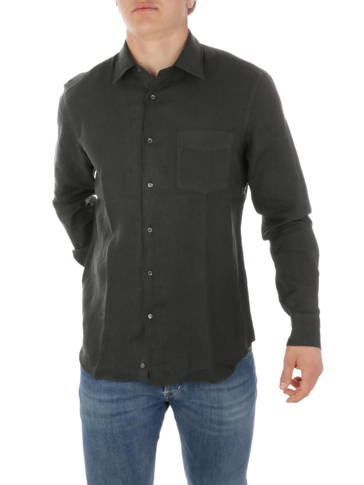 Picture of ASPESI | Men's Mod. Sedici Linen Shirt