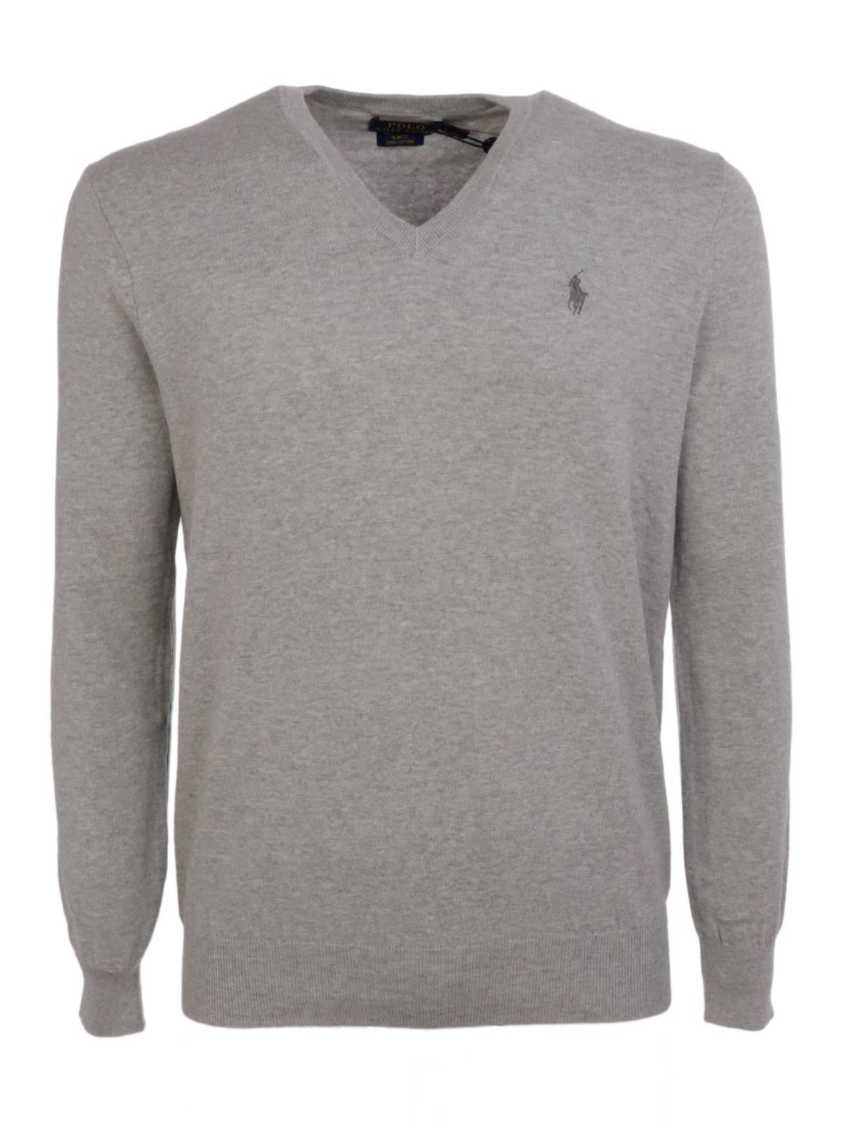 ad4a8d2de0ef POLO RALPH LAUREN Men s V-neck Sweater Andover Heather ...