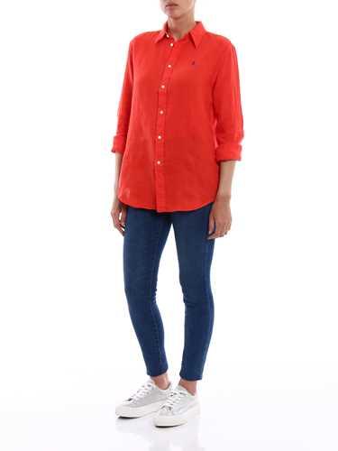 Picture of POLO RALPH LAUREN | Women's Linen Shirt